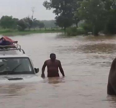 Geen zorgen over overstromingen in Dhading