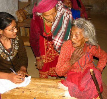 Vrijwilligersreis voor healthcamp in Dhading