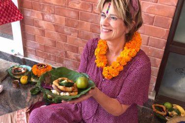 Ans op reis naar Nepal
